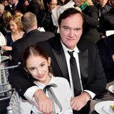 """Ein gutes Team: Regisseur Quentin Tarantino und sein kleiner """"Once Upon a Time in Hollywood""""-Star Julia Butters"""