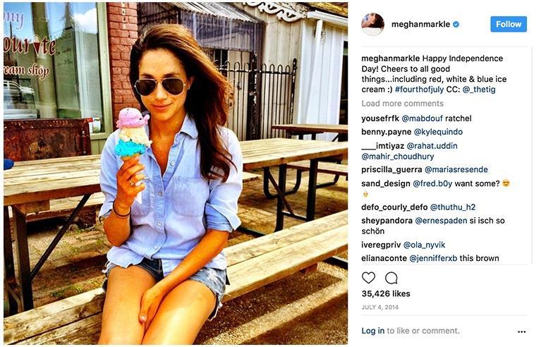 Meghan Markle hat ihren liebsten Eisladen in Toronto gefunden