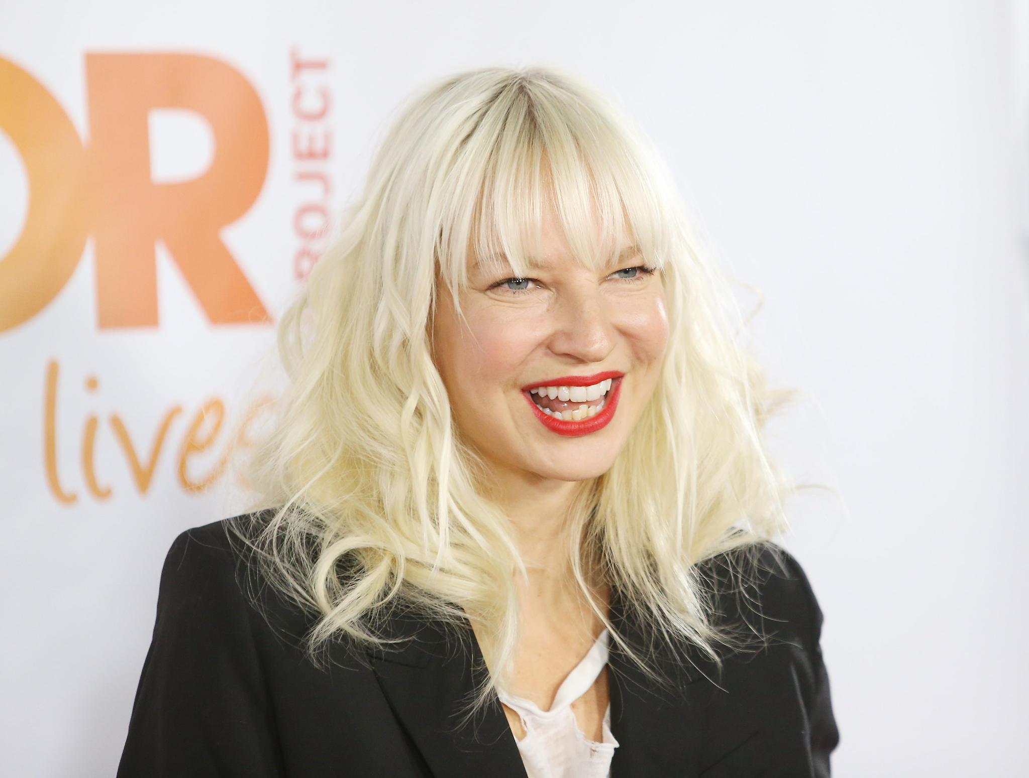 Sängerin Sia