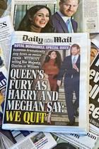 Der Rücktritt von Herzogin Meghan und Prinz Harry dominieren seit Tagen die Schlagzeilen in England.