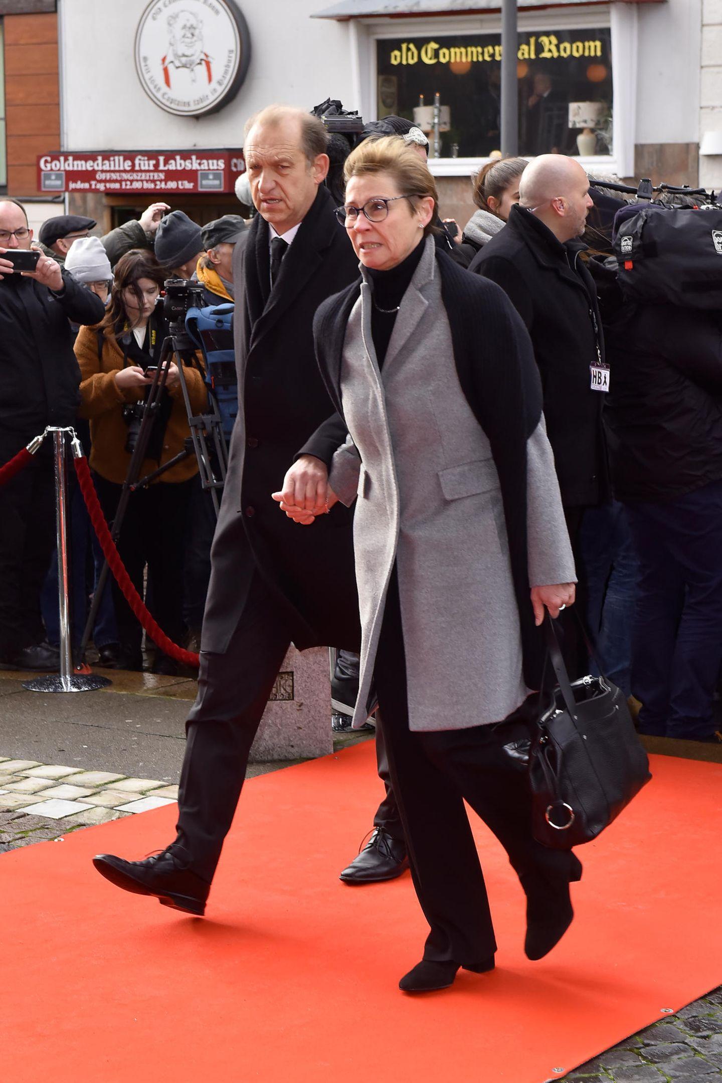 Peter Heinrich Brix + Ehefrau Angelika