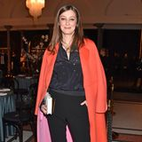 Schauspielerin Alexandra Maria Lara lässt sich die Soirée von Marc Cain nicht entgehen.