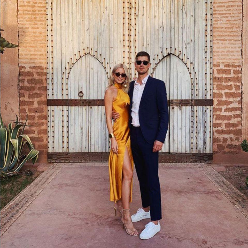 28. September 2019  Lena Gercke und Dustin reisen im Herbst zusammen nach Marrakesch,um dort unter der Sonne des Südens eine Hochzeit von Freunden zu feiern.