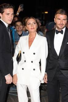 Brooklyn Beckham, Victoria Beckham und David Beckham