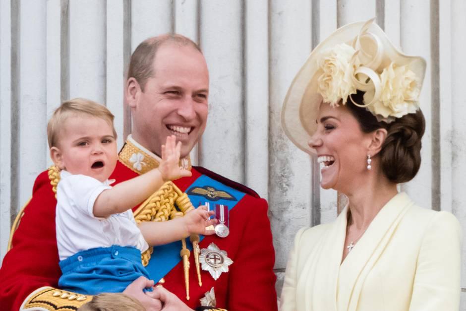 Prinz William und Herzogin Kate mit Nachwuchs