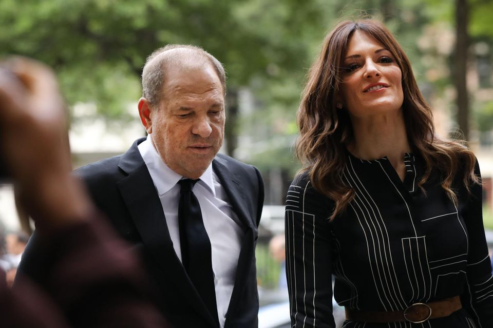 Harvey Weinstein und Donna Rotunno