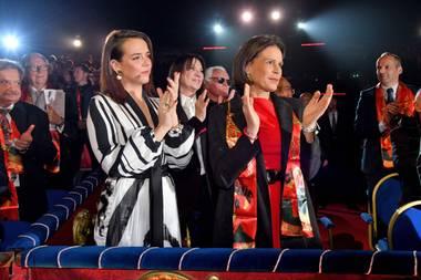 Pauline Ducruet + Prinzessin Stéphanie