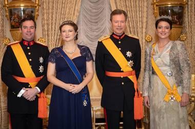 Guillaume, Stéphanie, Henri und Alexandra
