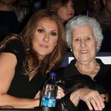 Celine Dion mit ihrer Mutter Therese Dion