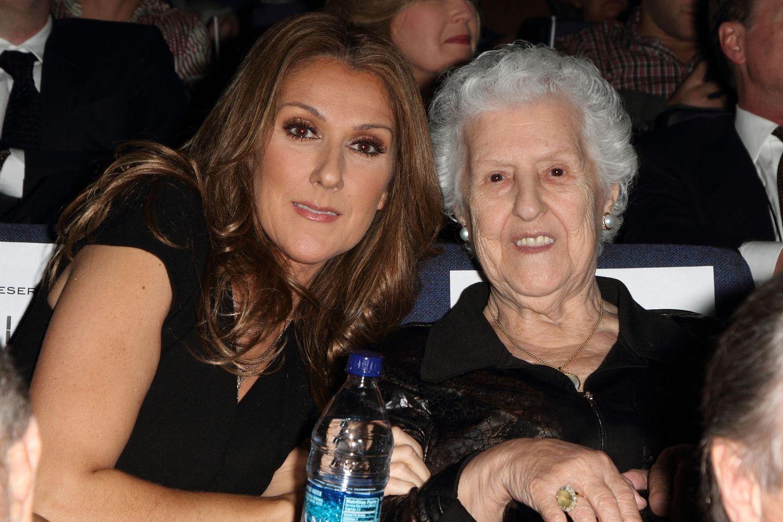Celine Dion mit ihrer Mutter Therese Dion