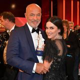 Viktoria Lauterbach kann stolz auf ihren Mann sein: Heiner Lauterbach wurde nämlich mit dem Ehrenpreisdes bayerischen Ministerpräsidenten ausgezeichnet.