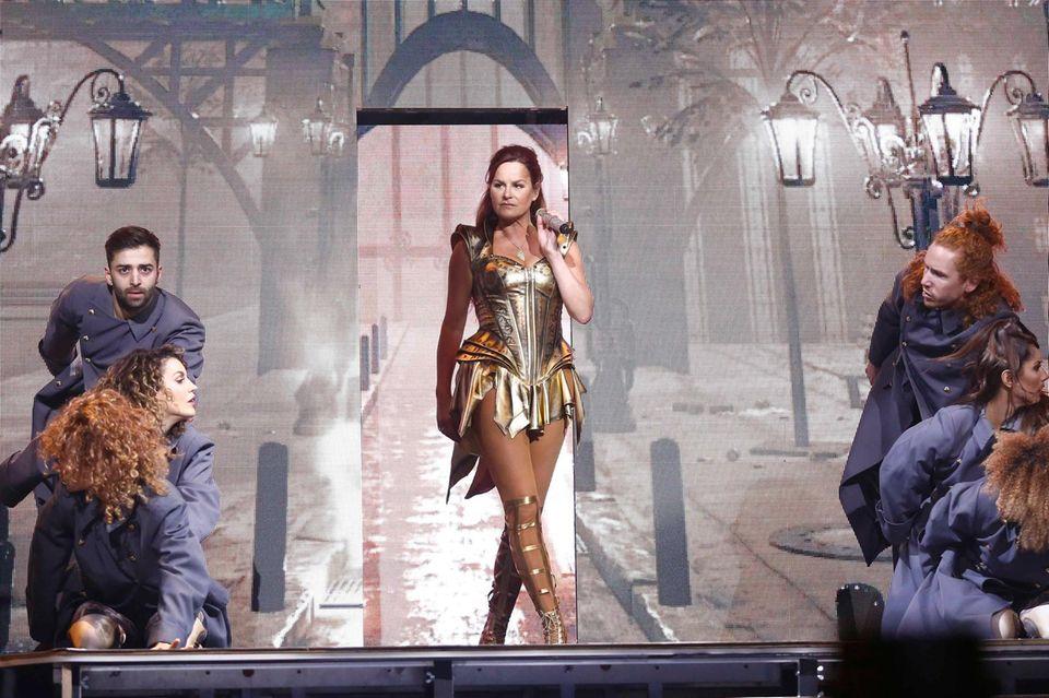 Andrea Berg begeisterte nicht nur mit ihrem Gesang, sondern auch mit einer eindrucksvollen LED-Show.
