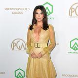 Sexy in Gold präsentiert sich Eva Longoria.