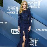 Nicole Kidman bringt in ihrem Kleid von Michael Kors den Glamour Hollywoods in das Shrine Auditorium. Ihre High Heels sind von Alexandre Birman.