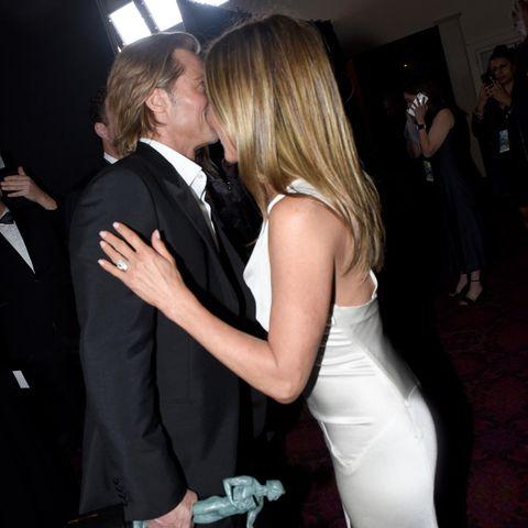 Es ist eine süße Reunion des einstigen Traumpaars Hollywoods.