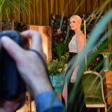 SAG Awards 2020: Wunderschön wie immer: Charlize Theron posiert für die anwesenden Fotografen.