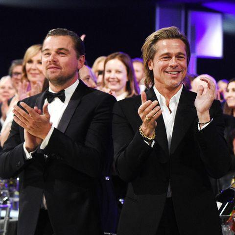SAG Awards 2020: Auch Hollywood-Beaus Leonardo Dicaprio und Brad Pitt sind an diesem feierlichen Abend mit von der Partie.