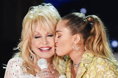 Dolly Parton und Miley Cyrus
