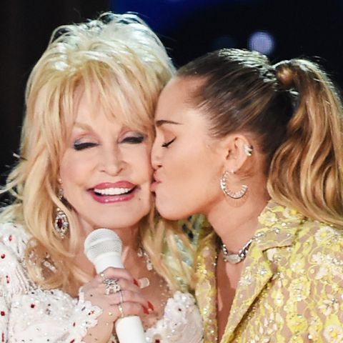 Dolly Parton und Miley Cyrus