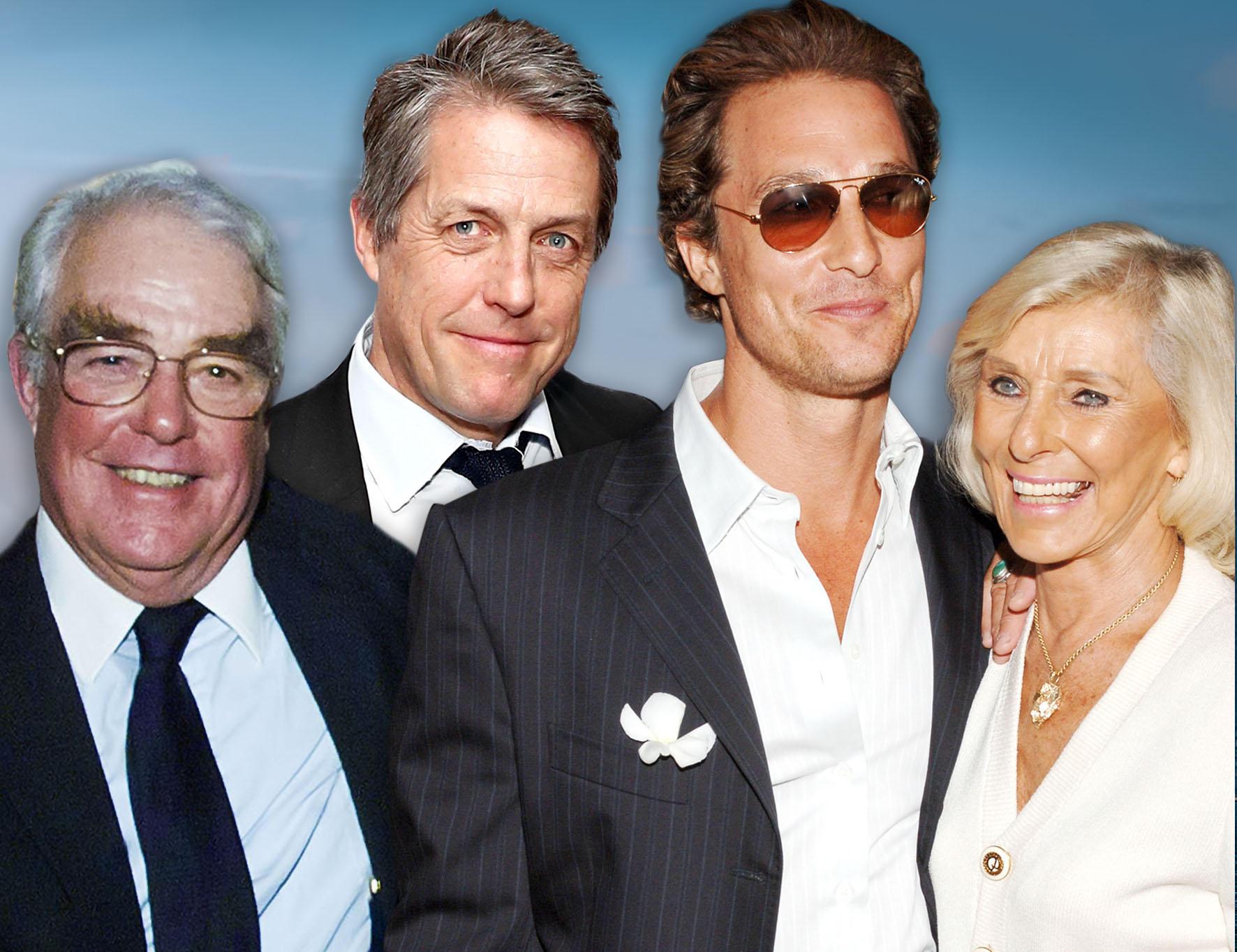 James Grant, Hugh Grant, Matthew McConaughey, Kay McConaughey