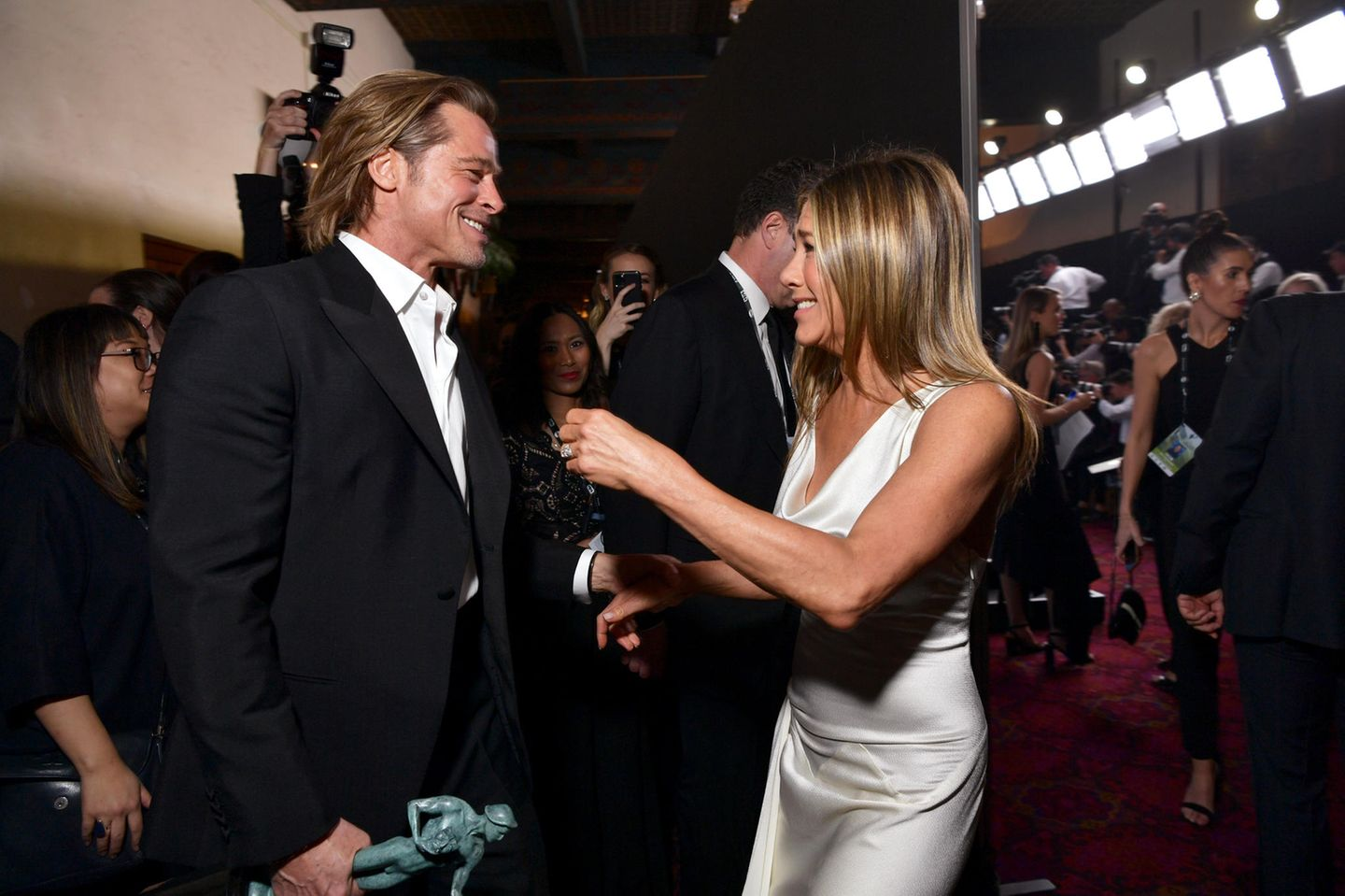 Brad Pitt und Jennifer Aniston