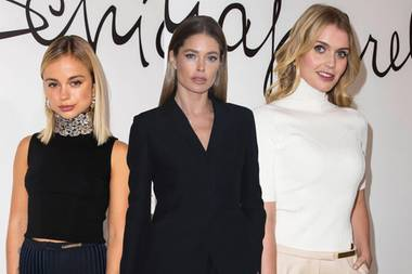 Amelia Windsor, Doutzen Kroes, Kitty Spencer