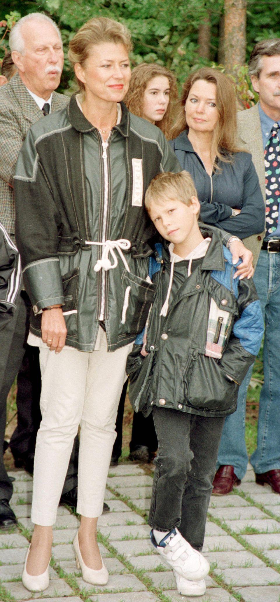 Dagmar Wöhrl und ihr Sohn Emanuel