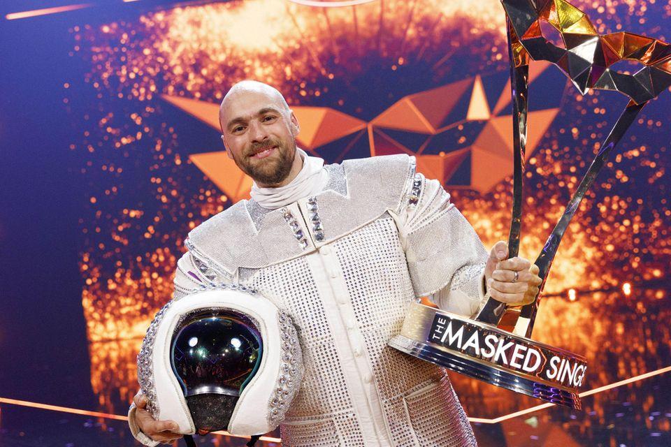 """Max Mutzke gewinnt """"The Masked Singer"""" 2019"""