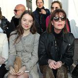 Zu Chanel ging es mit Mutter Caroline von Hannover.
