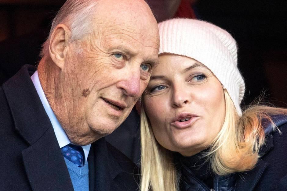 König Harald V und Kronprinzessin Mette-Marit