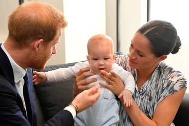 Harry, Archie und Meghan