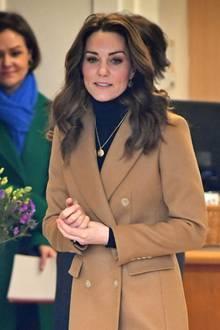 Herzogin Catherine am 22. Januar in Cardiff.