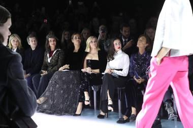Front Row Giorgio Armani, Fashion Week Paris