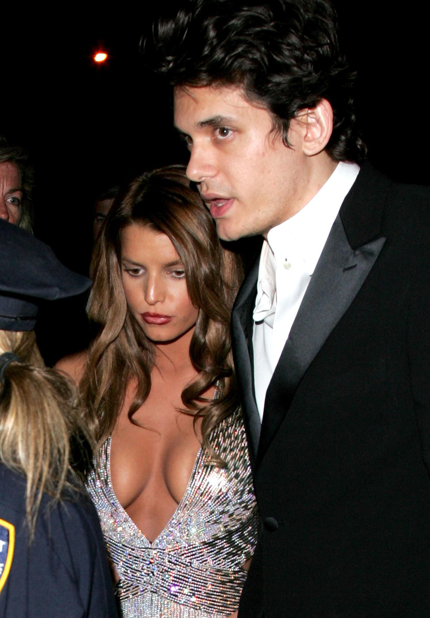 Jessica Simpson und John Mayer im Jahr2007