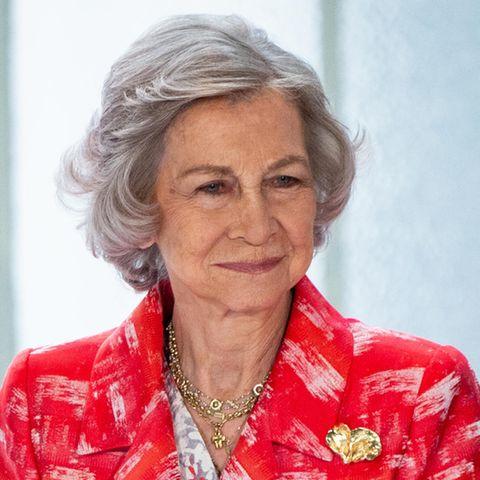 Königin Sofia, eigentlichSophia Margarita Victoria Friederika, Königin von Spanien (*1938)