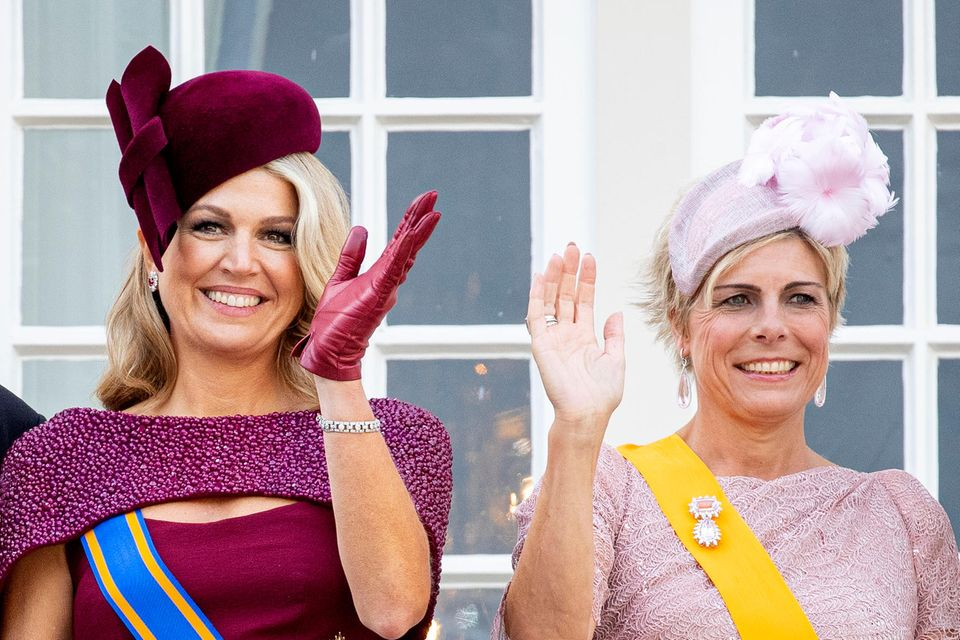 Königin Maxima und Prinzessin Laurentien