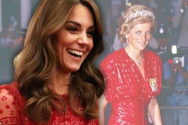 Herzogin Catherine vs. Prinzessin Diana