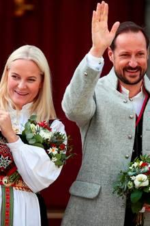Prinzessin Mette-Marit, Prinz Haakon