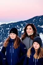 Kronprinz Frederik, Prinz Christian, Prinz Vincent, Prinzessin Isabella, Prinzessin Mary, Prinzessin Josephine