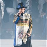 Sänger Boy George sorgte während der Abschlussshow für die musikalische Untermalung.