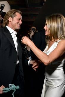 Brad Pitt und Jennifer Aniston bei den diesjährigen SAG Awards