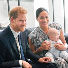 Prinz Harry, Herzogin Meghan und Archie Harrison Mountbatten-Windsor