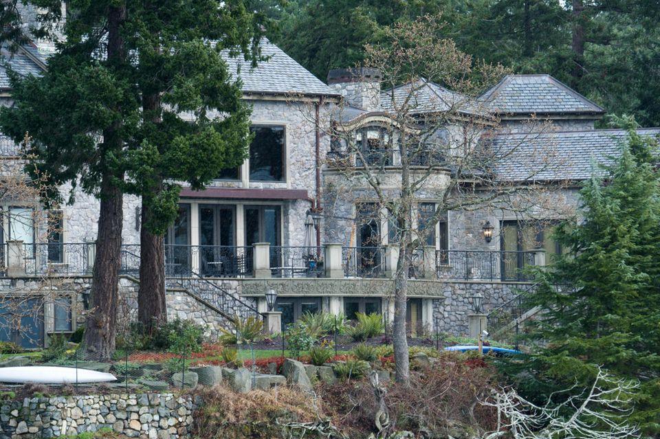 Kanadische Luxus-Villa, in der Prinz Harry und Herzogin Meghan wohnen