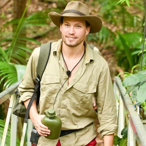 Raúl Richter nach seinem Rauswurf aus dem Dschungelcamp.