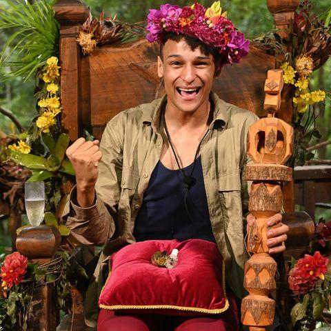 Prince Damien ist Dschungelcamp-König 2020.