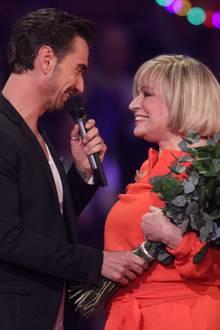 Florian Silbereisen und Mary Roos