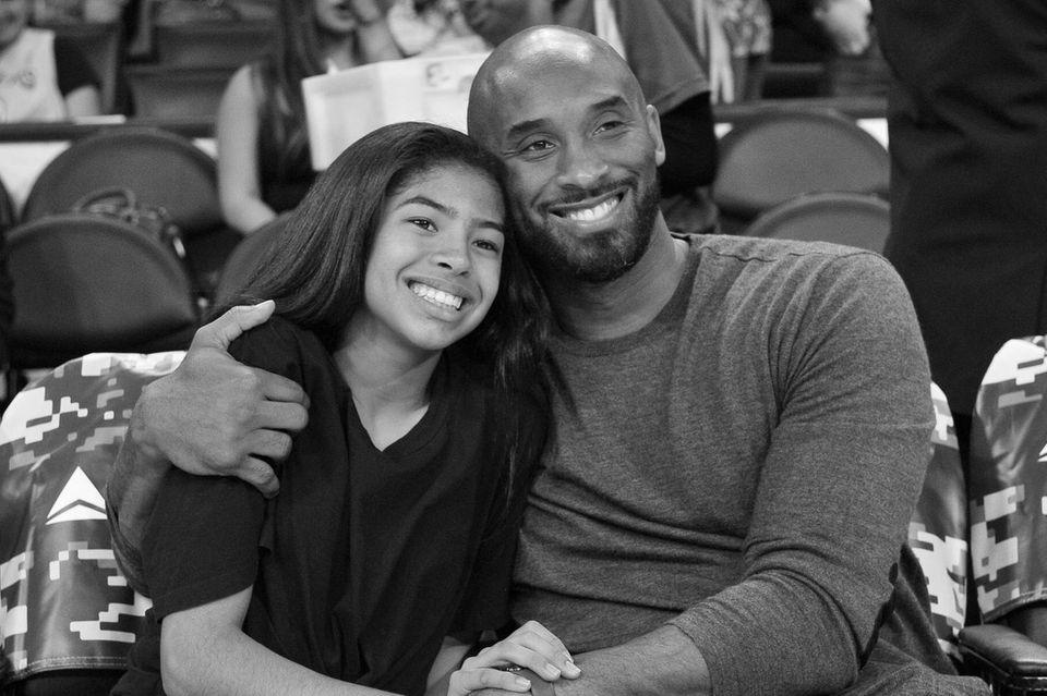 Gianna Bryant († 13) und Kobe Bryant († 41)