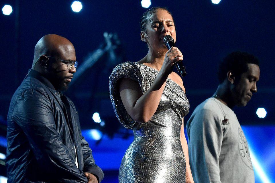Alicia Keys und Boyz II