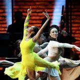 Ballett-Star Misty Copeland verzaubertdas Publikum im Staples Center mit ihrem tänzerischen Können.