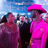 Grammy-Gewinner unter sich: Lizzo und Lil Nas X